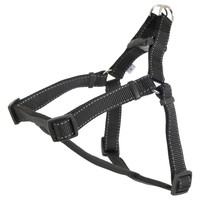 Ancol Padded Reflective Dog Harness (Black) big image