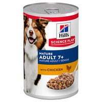 Hills Science Plan Mature Adult 7+ Medium Breed Wet Dog Food Tins (Chicken) big image
