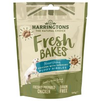 Harringtons Fresh Bakes Nourishing Chicken with Yoghurt Puppy Nibbles 100g big image
