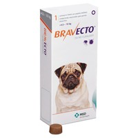 Bravecto 250mg Chewable Tablets for Small Dogs big image