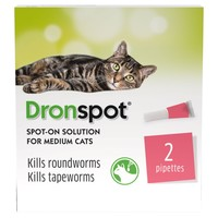 Dronspot Spot-On Worming Solution for Medium Cats big image