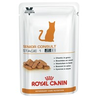 Royal Canin Vet Care Nutrition Senior Consult Stage 1 Pouches for Cats big image