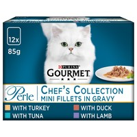 Purina Gourmet Perle Adult Cat Food Pouches (Chef's Collection) big image