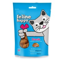 Feline Happy Gourmet Cat Treats (Duck) big image