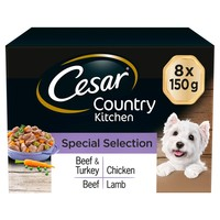 Cesar Country Kitchen Adult Wet Dog Food Trays in Gravy (Special Selection) big image