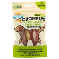 Good Boy Chompers Dental Toothbrush for Small Dogs (4 Pack) big image