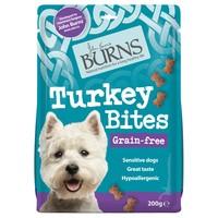 Burns Grain Free Turkey Bites Treats for Dogs 200g big image