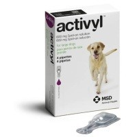 Activyl Spot-On Solution for Large Dogs (4 x 600mg Pipettes) big image