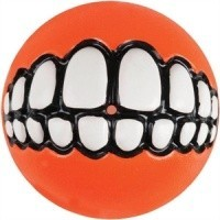 Rogz Grinz Treat Ball Orange big image