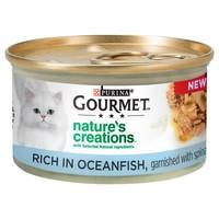 Purina Gourmet Nature's Creations Wet Cat Food (Ocean Fish) big image