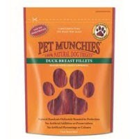 Pet Munchies Duck Breast Fillet Treats for Dogs 80g big image