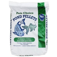 Pets Choice Fresh Water Pond Pellets 10kg big image