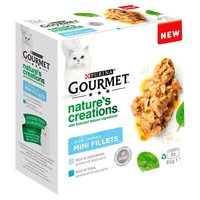 Purina Gourmet Nature's Creations Slow Cooked Mini Fillets (Fish)  big image