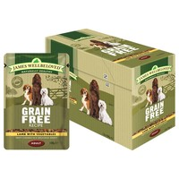 James Wellbeloved Grain Free Pouches for Adult Dogs big image