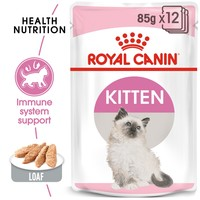 Royal Canin Kitten Cat Food Pouches in Loaf big image