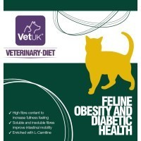 VetUK Veterinary Diet Feline Obesity and Diabetic Health big image