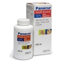 Panacur 10% 100ml Liquid for Cats and Dogs big image