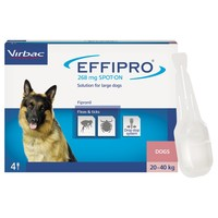 Effipro for Large Dogs (4 Pipettes) big image