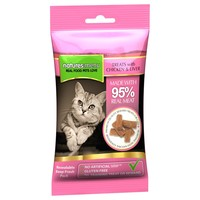 Natures Menu Real Meaty Treats for Cats 60g (Chicken and Liver) big image