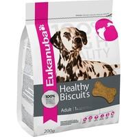 Eukanuba Healthy Biscuits Adult Dog Treats 200g big image