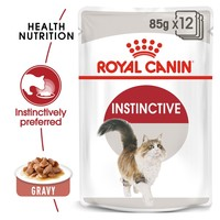 Royal Canin Instinctive Pouches in Gravy Adult Cat Food big image