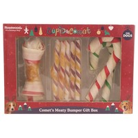 Rosewood Cupid & Comet's Meaty Bumper Gift Box for Dogs big image