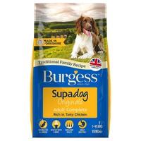 Burgess Supadog Adult Dog Food (Chicken) 15kg big image