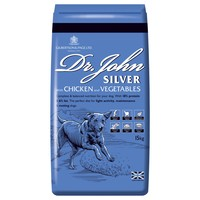 Dr John Silver Adult Dry Dog Food (Chicken with Veg) big image