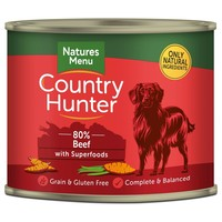 Natures Menu Country Hunter Dog Food Cans (Beef) big image