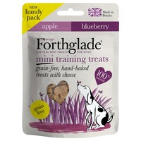 Forthglade Grain Free Mini Training Treats for Dogs (Cheese, Apple & Blueberry) 50g big image