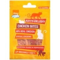 Good Girl Kitty Delishy Chicken Bites Cat Treats 30g big image