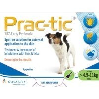 Prac-Tic Spot-On for Small Dogs 3 Pack big image