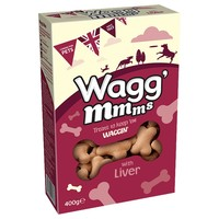 Wagg'mmms with Liver Dog Treats 400g big image