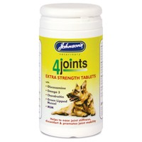 Johnson's 4Joints Extra Strength Tablets for Cats and Dogs big image