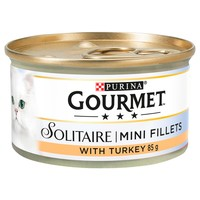 Purina Gourmet Solitaire Cat Food Cans (12 x 85g) big image