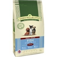 James Wellbeloved Adult Dog Small Breed Fish and Rice big image