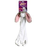 Animal Instincts Skin Flings Rabbit Dog Toy big image