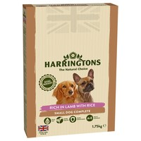 Harringtons Complete Dry Food for Small Breed Adult Dogs (Lamb with Rice) 1.75kg big image