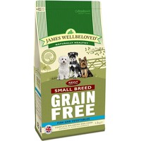 James Wellbeloved Grain Free Adult Dog Small Breed (Fish & Vegetables) 1.5kg big image