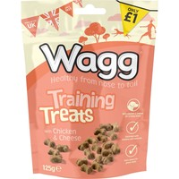 Wagg Chicken & Cheese Training Treats for Dogs 125g big image