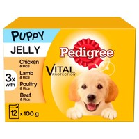 Pedigree Puppy Wet Dog Food Pouches in Jelly (Mixed Selection) big image