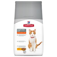 Hills Science Plan Young Adult Sterilised Cat Food (Chicken) big image