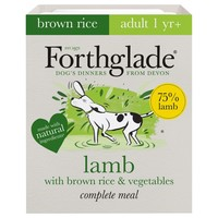 Forthglade Complete with Brown Rice Dog Food (Lamb & Veg) big image