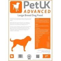 PetUK Advanced Large Breed Dog Food 12kg (Chicken) big image