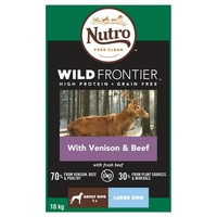 Nutro Wild Frontier Adult Large Dog Dry Food (Rich in Venison & Beef) 10kg big image