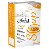 Purina Gourmet Soup Multipack Pouches (Chicken) big image