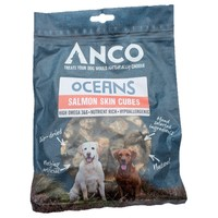 Anco Oceans Salmon Skin Cubes 100g big image
