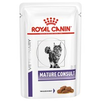 Royal Canin Veterinary Mature Consult Wet Food Pouches for Cats big image