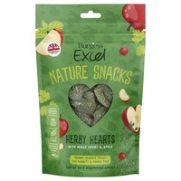 Burgess Excel Nature Treats Herby Hearts 60g big image