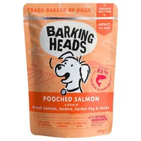 Barking Heads Adult Wet Dog Food Pouches (Pooched Salmon) big image